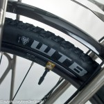 Tubeless Tyre on PauL LasenbY's touring Bike