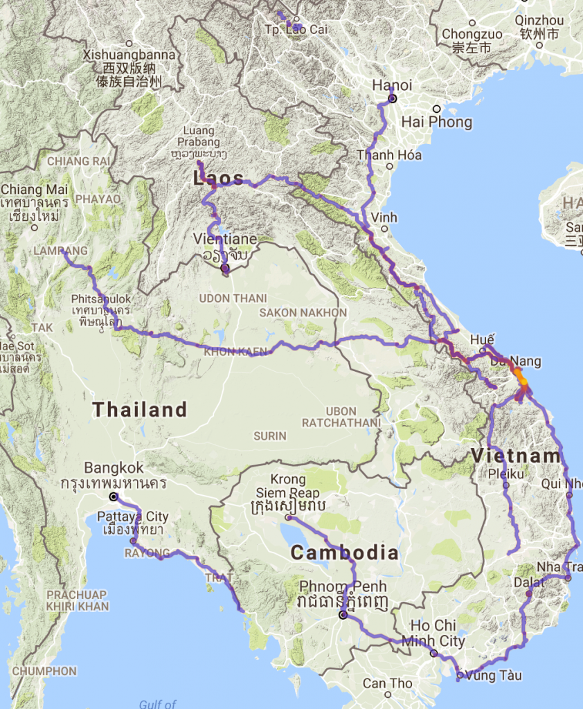 Total Route Updated 31/03/2017